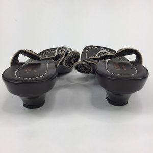 Donald J. Pliner Shoes - Donald J. Pliner Thong Sandals Platform Silver